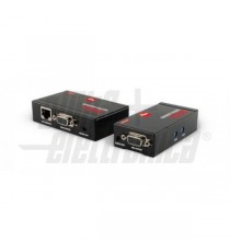 EXTENDER VGA+AUD.TX+RX SINGOLO CAT6 300M