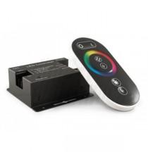 REGOLATORE LED RGB 8A/CH 12/24V CON TEL.