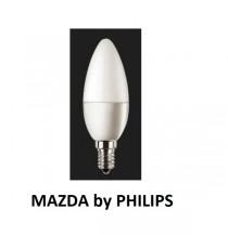 LAMPADA LED OLIVA B35 40W E14 6500K MAZDA