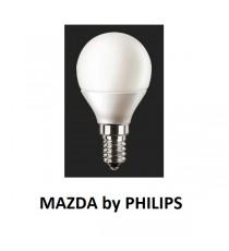 LAMPADA LED SFERA P45 40W E14 2700K MAZDA