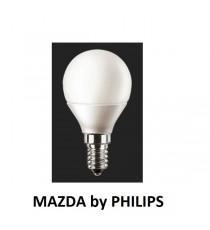 LAMPADA LED SFERA P45 40W E14 4000K MAZDA