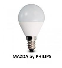 LAMPADA LED SFERA P45 40W E14 6500K MAZDA