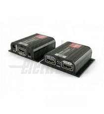 EXTENDER HDMI POE 1XCAT6 50M IR-LOOPOUT-EDID