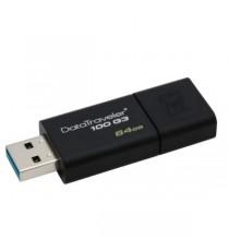 FLASH DRIVE KINGSTONUSB 3.0 64GB DT100G3/64GB