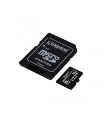 SD-MICRO KINGSTON 16GB CLASS 10 + ADATT. CANVAS