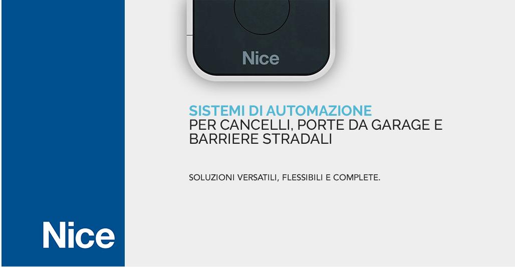 Sistemi di automazione Nice